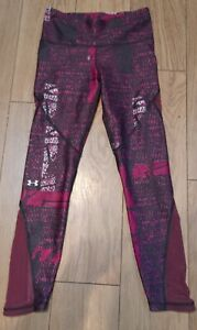 Women's pink Running Tights Under Armour
