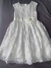 Girls Bridesmaid Wedding Confirmation Party Dress Age 8 TU