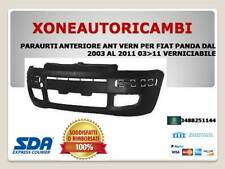 PARAURTI ANTERIORE ANT VERN PER FIAT PANDA DAL 2003 AL 2011 03>11 VERNICIABILE