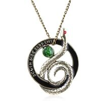 Southside Serpents Necklace Riverdale Costume Jewelry Metal Chain Charm Pen #S