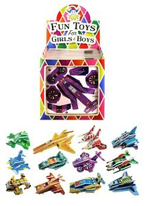 3D Mini Space Rocket Puzzles - Boys Stocking Party Bag Fillers Spaceship Toys