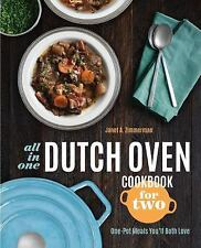 ALL-IN-ONE DUTCH OVEN COOKBOOK FOR TWO - ZIMMERMAN, JANET A. - NEW PAPERBACK BOO