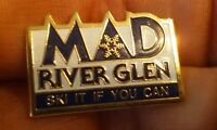 MAD River Glen pin badge Ski It If You Can