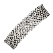 DIAMOND ROUND BRILLIANT SHAPE BRACELET