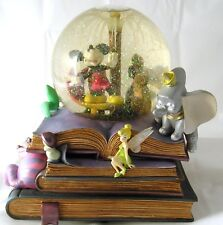 Disney Mickey Mouse Storybook Friends Musical Fiber Optic Snow Globe