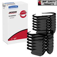 (12 PAIR) JACKSON NEMESIS 3000356 SAFETY GLASSES SMOKE MIRROR LENS GRAY 25688