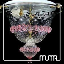 lámpara de araña, plafón, celing vidrio Cristal Murano hecho en a mano. handmade