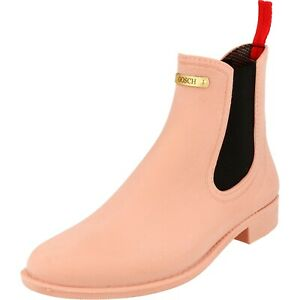 Gosch shoes Sylt Ladies Shoes Rubber Chelsea Boots 7105-310-631 Hydrangea New