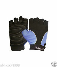 "BRANDED ""NIVIA"" GENUINE LEATHER GYM/FITNESS/SPORTS GLOVES Size: L (GG708/GG705)"