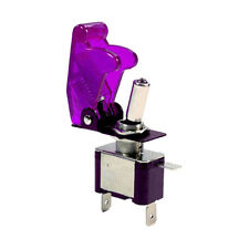 12V 20A Purple Cover LED Light Toggle Switch SPST ON/OFF Car Auto Boat Sales
