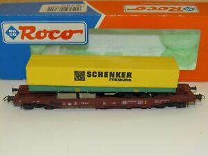 D13 Roco N 25146 Güterwagen DB Taschenwagen Auflieger Jacky Maeder OVP TOP
