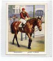 (Jc2573-100)  WILLS,RACEHORSES & JOCKEYS,1938,MONUMENT,1939#18
