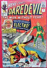 Daredevil 2 Marvel Silver Age 1964 2nd app of Daredevil 2nd app of Electro