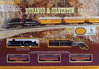 BACHMANN 24020 N SCALE Durango & Silverton Steam TRAIN SET READY TO RUN