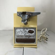 Vintage Sunbeam Total Clean Power Pierce Automatic Can Opener Ice Crusher