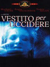 Dressed to Kill - Michael Caine- Angie Dickinson, Brian de Palma DVD