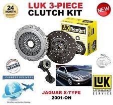 FOR JAGUAR X TYPE 2.1 V6 2.5 V6 AWD 3.0 LUK CLUTCH KIT 2001-ON + SLAVE CYLINDER