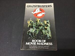 Vtg Ghostbusters Book of Movie Madness 1985 Chip Lovitt