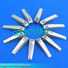 "New 3 1/4"" 100 % Straight Edge Toe Nail Clipper Pedicure Tool Lot Of 12 Pices"