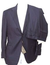 Canali Striped Three Button 100% Wool Suits for Men