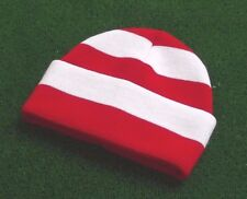 Sunderland AFC Colours Retro Bar Hat - Red & White - Made in UK