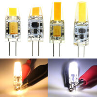 Hot 3W 6W G4 LED COB Lamp Bulb G4 LED 12V AC/DC COB Silicone Light Bulb Dimmable