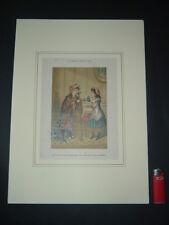 Litografia a Colori 1860 Clarisse JURANVILLE, Histoire de la bonne petite Nini 4