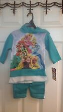Disney, Princess infant Size 24M, hooded Sweatsuit, Multi Color, NWT