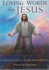Loving Words from Jesus Card Deck by Doreen Virtue NEW & Sealed
