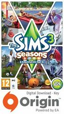 THE SIMS 3 SEASONS EXPANSION PACK PC AND MAC ORIGIN KEY