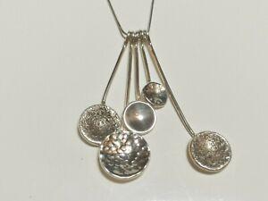Pendulum Pendant  Chris Lewis Sterling Silver rrp £79