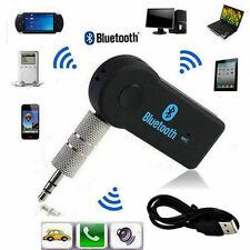 Wireless Bluetooth Receiver Transmitter Audio Adapter Car 3.5mm AUX Headphones