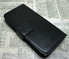 LUXURY VINTAGE LEATHER WALLET STAND CASE COVER FOR SAMSUNG GALAXY NOTE MODELS