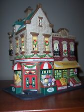 "Dept 56 ""Johnson'S Grocery & Deli"" Christmas in the City, Nib"