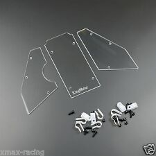 NEW Windshield Window Set fits HPI Baja 5B 5T 5SC ROVAN KING MOTOR 1/5 Truck