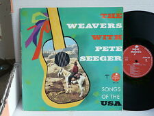 THE WEAVERS WITH PETE SEEGER Songs of the USA BBH 1560