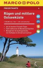 MARCO POLO Freizeitkarte Rügen und mittlere Ostseeküste (2015, Karte)