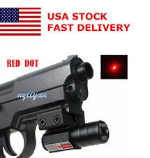 US Red Dot Laser Sight Picatinny 11/20mm Mount for Rifle Gun Pistol Hunt