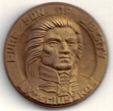 Polish American Patriot General Kosciuszko Pure Son of Liberty BRZ Eagle Medal