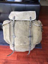 Vintage 1960's Brown Best BB Cresta Hiking Backpack England All British Rucksack