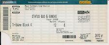 STATUS QUO & Kansas Used Free Ticket Berlin 26.10.2009