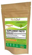 Ginkgo Biloba Leaf Extract Powder High Strength 24% Flavinoids Blood Circulation