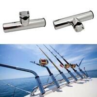 1X Steel Fishing Rod Holder Pole Bracket Rod Stand Fishing Tool 2021NE
