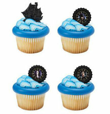 Pirates of the Caribbean Life cupcake rings (24) party favor cake topper
