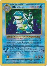 Blastoise Base Set Pokémon Individual Cards