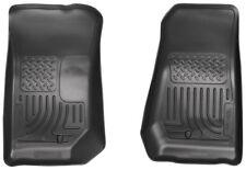 HUSKY 18021 WeatherBeater Floor Mats Front Row for 07-13 Jeep Wrangler JK ALL UL