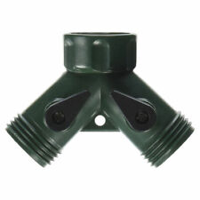 Mintcraft Gc5113L Garden Hose Connectors, Y With Shut-Off-Plastic