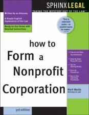 How to Form a Nonprofit Corporation-ExLibrary
