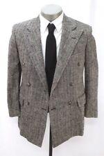 vintage silk POLO RALPH LAUREN blazer jacket double breasted sport coat 36 S
