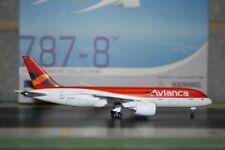 Dragon Wings 1:400 Avianca Colombia Boeing 787-8 (55389) Die-Cast Model Plane